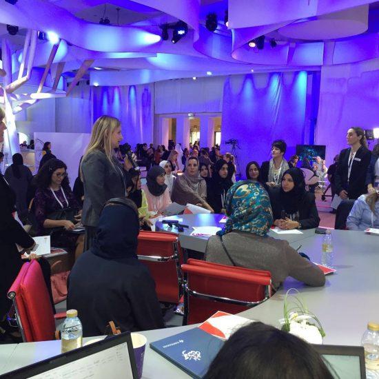 REACH Mentoring Workshop at Global Women's Forum Dubai