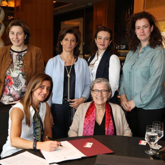 Signing of MOU Reach llwb in  lebanon